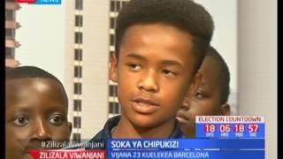 Soka ya Chipukizi-Express Soccer Academy; Maurice Olunga: Zilizala Viwanjani pt 2