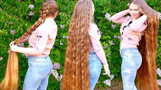RealRapunzels | Super Long Wavy Hair In Nature (preview)