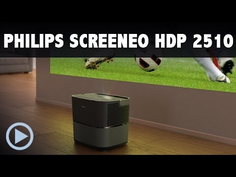 Philips Screeneo HDP2510 Kurzdistanz HEIMKINO Beamer im Test bei HEIMKINORAUM