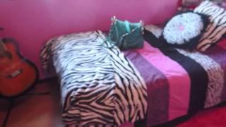 Room Tour 2013  {Hot Pink & Zebra Print}