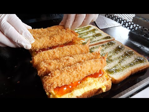 This Looks Good: Egg Fried Shrimp Toast