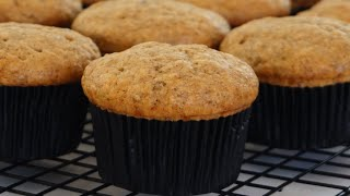 Super Moist Banana Muffin Recipe