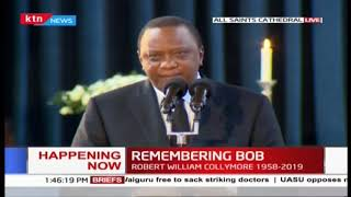 President Uhuru describes his last moments with Bob Collymore