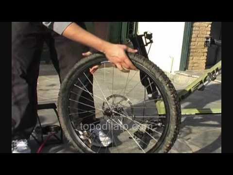 Αλλαγή σαμπρέλας ποδηλάτου