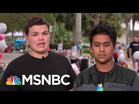 Douglas Shooting Survivors To President Donald Trump: Is Money More Valuable Than Children | MSNBC