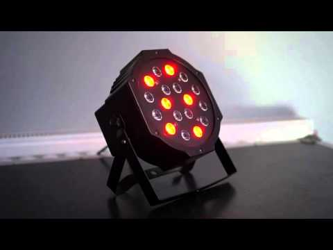 Reflector cañon lampara par led 18 leds dmx