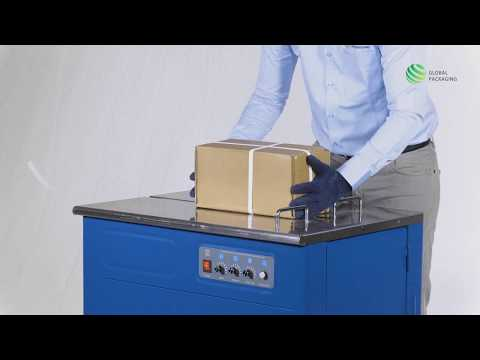 PACKRIGHT Semi Automatic Box Strapping Machine Economy Model for Light Weight Boxes