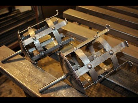 Rustikale Mittelalter Fackel selber bauen - Gartenfackel aus Metall
