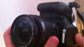 Anleitung: Canon EOS 600D richtig benutzen - wie benutzt man die Spiegelreflexkamera richtig?