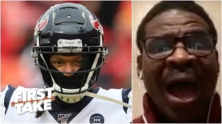 Michael Irvin Goes Off On The Texans For Trading DeAndre Hopkins: 'Are You Joking?!' | First Take