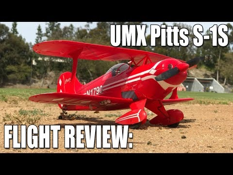 flight-review--eflite-umx-pitts-s1s
