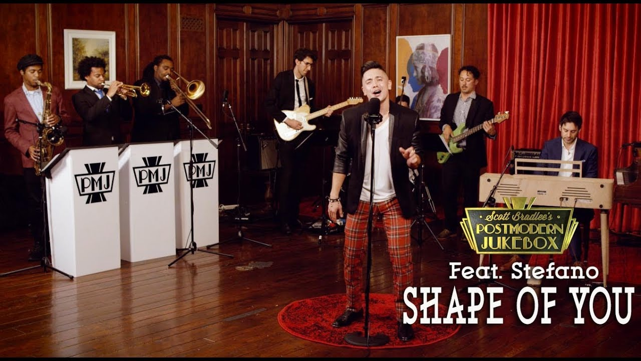 Shape Of You – Ed Sheeran ('70s Stevie Wonder Funk Style Cover) ft. Stefano