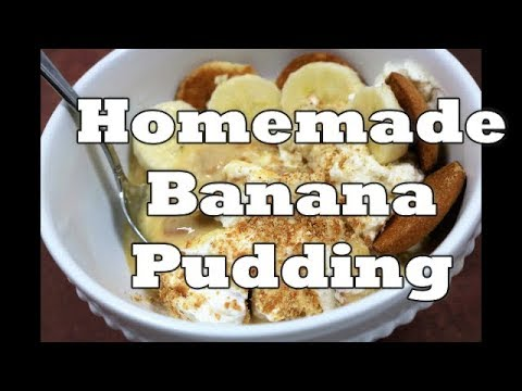 HOMEMADE BANANA PUDDING | FROM SCRATCH | OLD-FASHIONED | Chef Lorious