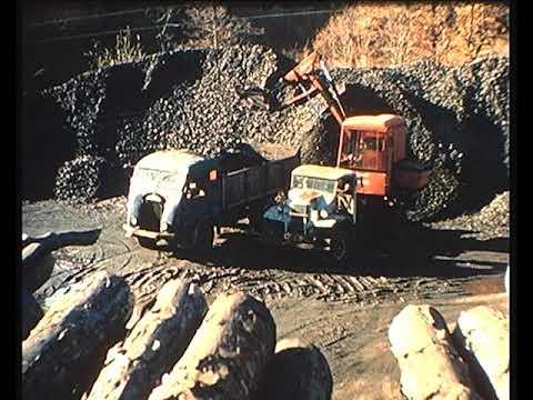 La mina de carbon de Cruèjols