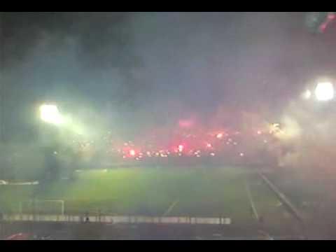 Nacional fans huge party