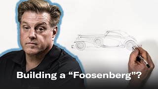 The Foosenberg? Redesigning A Period-correct Duesenberg | Chip Foose Draws A Car - Ep. 8