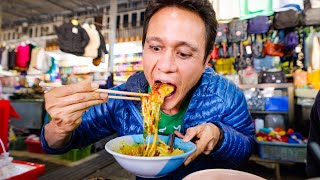 Ultimate STREET FOOD NOODLE HEAVEN 🍜!! Local Market Tour + Best Food in Mae Hong Son!
