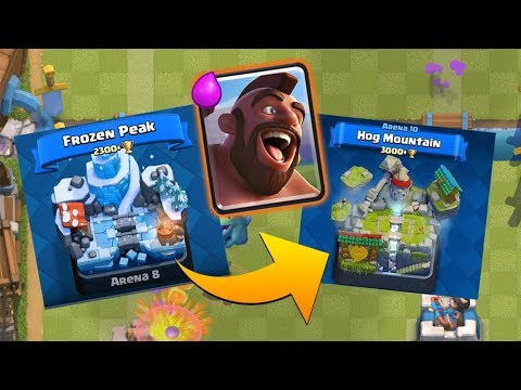 Z FROZEN PEAKU DO HOG MOUNTAIN? Clash Royale - Ukázka decku