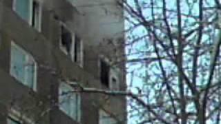 preview picture of video 'lakástűz a házunkban(oroszlány)'