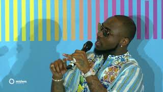 A Talk With Davido, The King Of Afrobeats   Midem 2018