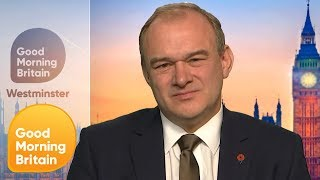 Liberal Democrat Deputy Leader Sir Ed Davey on the Party's Climate Promise | Good Morning Britain