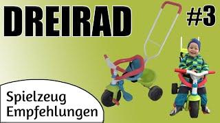 Spielzeug Empfehlung Dreirad von Smoby | Kinderfahrzeug | Be Move Komfort Pop Dreirad