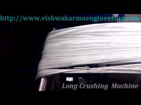 Fabric Long Crush Machines
