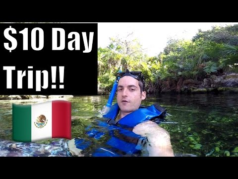 Video Playa Del Carmen, Mexico- Cheapest Day Trip !
