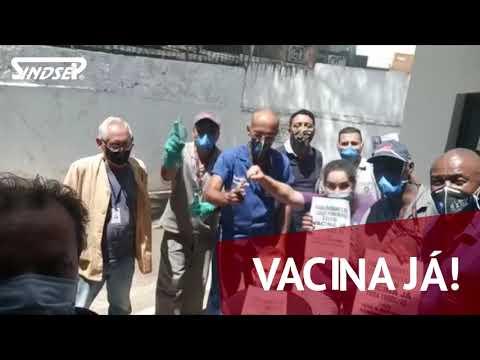 Trabalhadores do Serviço Funerário exigem vacina já!
