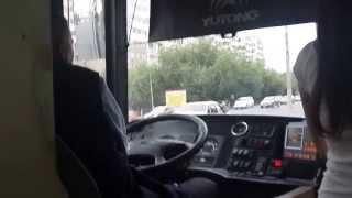 Водитель муниципального парка берет за проезд