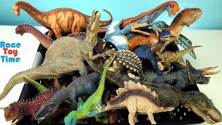 Lots of Toy Dinosaurs - Learn Dinosaur Toys Names For Kids
