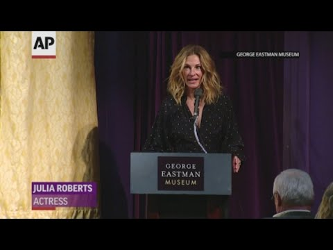 """While presenting her 2002 movie """"Full Frontal"""" to an audience in Rochester, Julia Roberts joked that she didn't want director Steven Soderbergh to join her onstage because he would """"steal her thunder."""" (May 3)"""