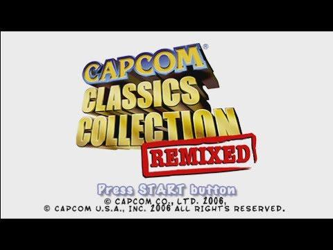 Capcom Classics Collection Remixed PSP Framemeister
