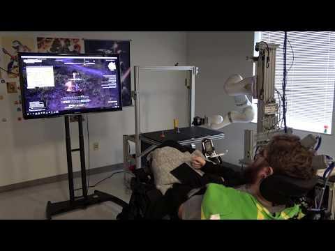玩家下半身癱瘓,用腦電波《Final Fantasy 14》
