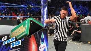 WWE Top 10 takes you back to this week's SmackDown LIVE to revisit the show's most thrilling, physical and controversial moments. Get your first month of WWE Network for FREE: http://wwenetwork.com Subscribe to WWE on YouTube: http://bit.ly/1i64OdT Visit WWE.com: http://goo.gl/akf0J4 Must-See WWE videos on YouTube: https://goo.gl/QmhBof
