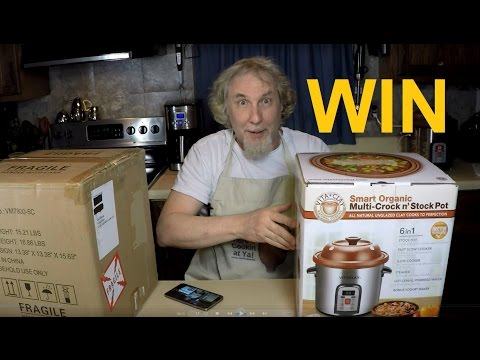 Free VitaClay Multi Cooker Giveaway Contest