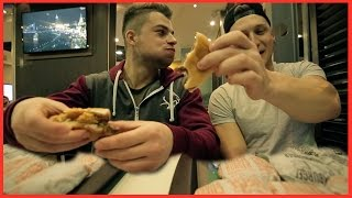 20 Burger Challenge - Cheatmeal Challenge w/ Enes