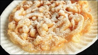 How to Make Funnel Cakes!!