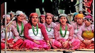 Nepali Traditional Bhailini Song Of Sikkim  || Tihar Song From Sikkim || Bhailini Aaye  ...