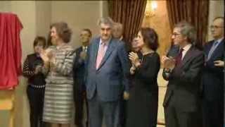 preview picture of video 'S.M. la Reina preside 200 años de la primera reunión de las Cortes de Cádiz en Madrid'