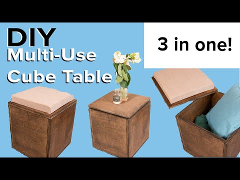 Convertible Cube Seat