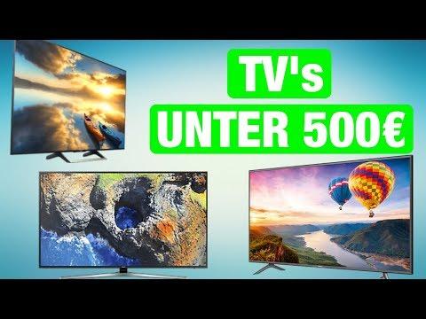 Die BESTEN 4K Fernseher für unter 500€ - Februar 2018