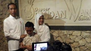 Seorang Anak Rela Tunggu Jokowi Tujuh Jam demi Tambah