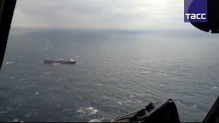 """В Черном море продолжается поисково-спасательная операция после крушения сухогруза """"Герои Арсенала"""""""