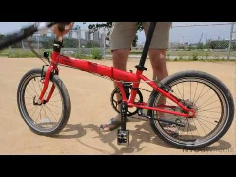 Dahon Speed P8 Folding Bike | Video Review