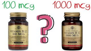 VITAMIN B12 dosing strategies – 3 examples (and what I recommend)