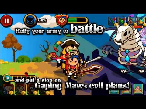 Video of Wizard & Dragon Defense