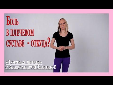 ► Остеохондроз - теория. Боль в плечевом суставе - связана ли она с позвоночником? ШОХ