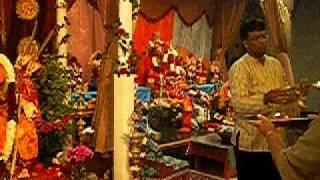 Om Jai Ambe Gauri Navratri Aarti on 9th day at   - YouTube