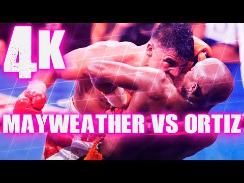 Floyd Mayweather Jr vs Victor Ortiz (Highlights) 4K